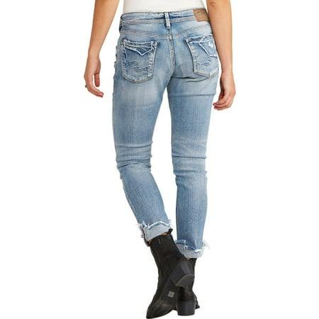 Silver Women's Jeans Kenni Boyfriend Jean - L27150sjl248