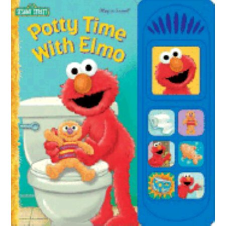 Potty Time Elmo - Potty Time with Elmo (Board Book)