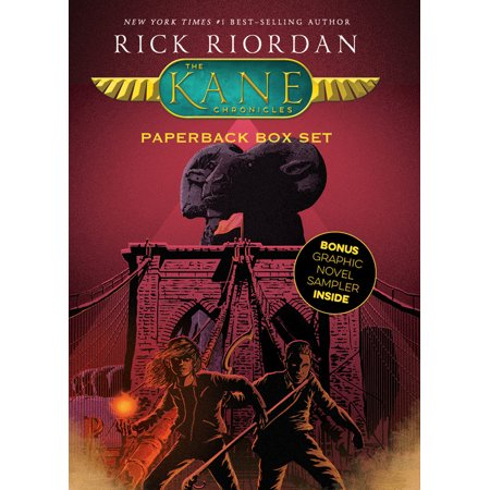 The Kane Chronicles, Paperback Box Set (with Graphic Novel (Charmed Sampler)