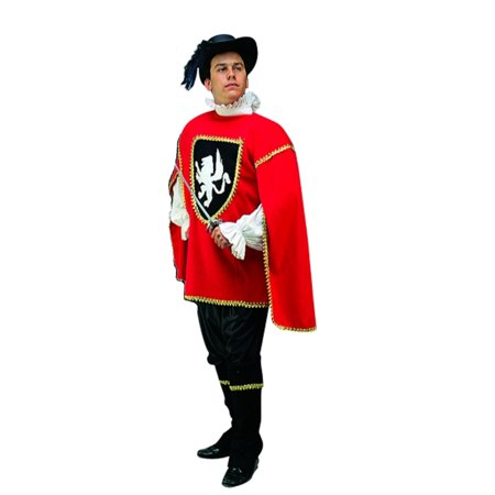 Adult Musketeer (2 Colors) Costume RG Costumes (Men's Musketeer Costumes)