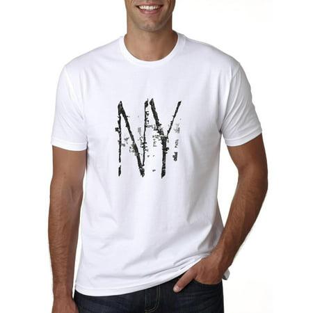 Hollywood Thread - Simple NY Large Print I Love New York Men s T-Shirt -  Walmart.com 274317ad5e3