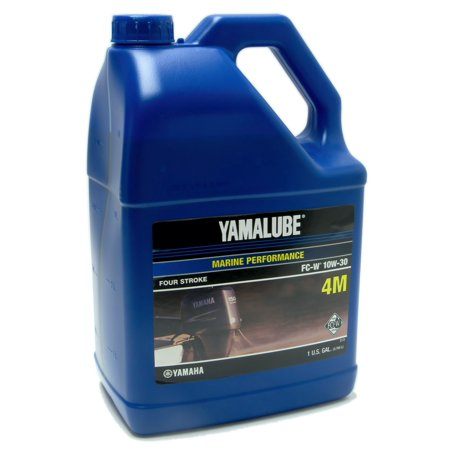 Yamaha Two Stroke (Yamaha Yamalube 4M Outboard FC-W 10W-30 Four Stroke Engine Oil One)