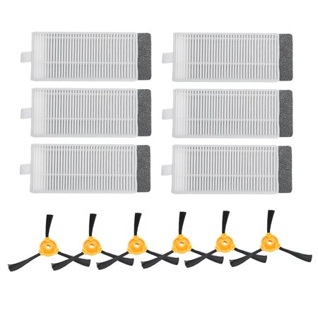 6Pcs N79 N79s Side Brush & Filter Kit New For DEEBOT Vacuum  - image 2 de 12