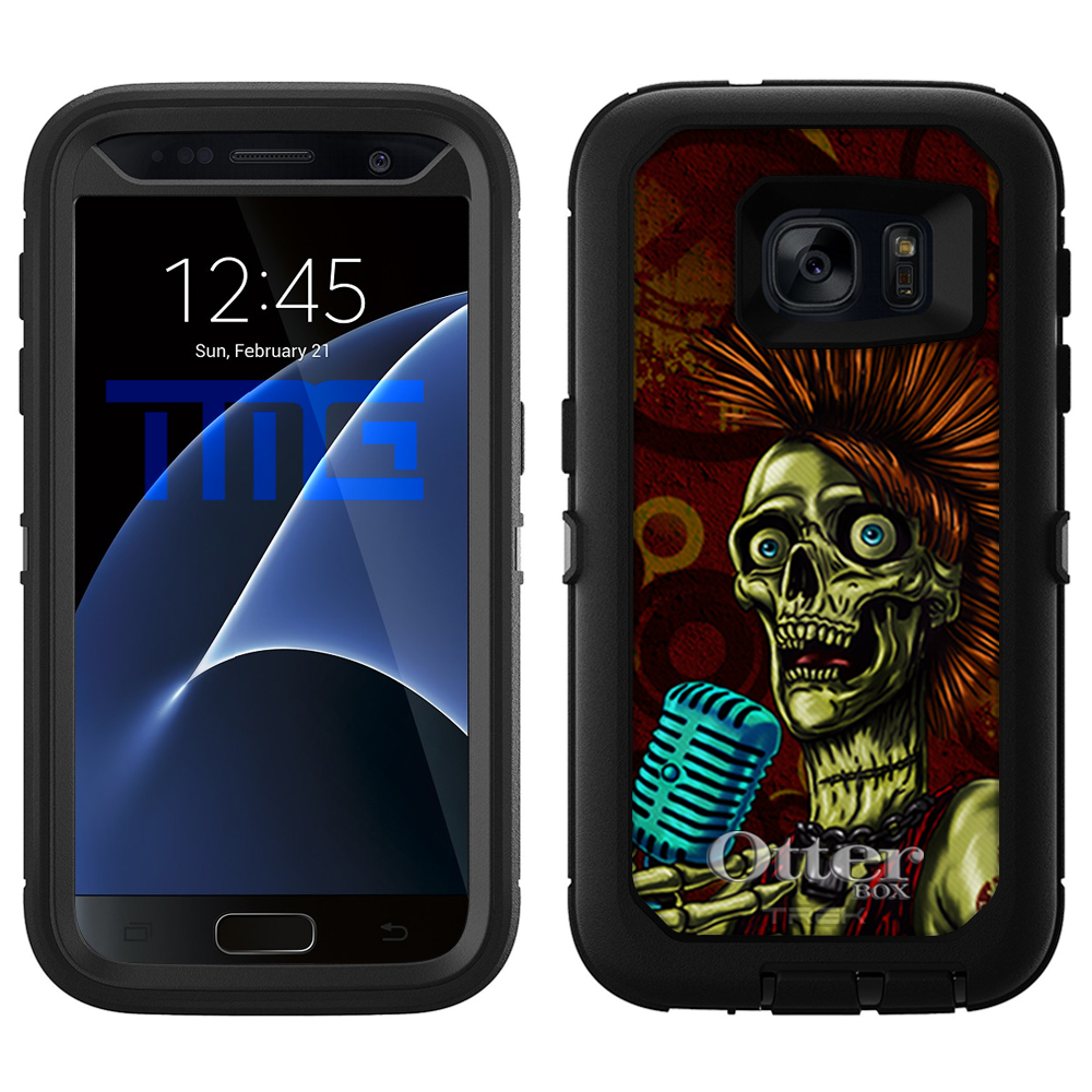 OtterBox Defender Samsung Galaxy S7 Case - Growl Skull OtterBox Case