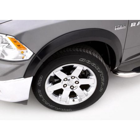 Lund 07-14 GMC Sierra 2500 SX-Sport Style Smooth Elite Series Fender Flares - Black (2 Pc.)