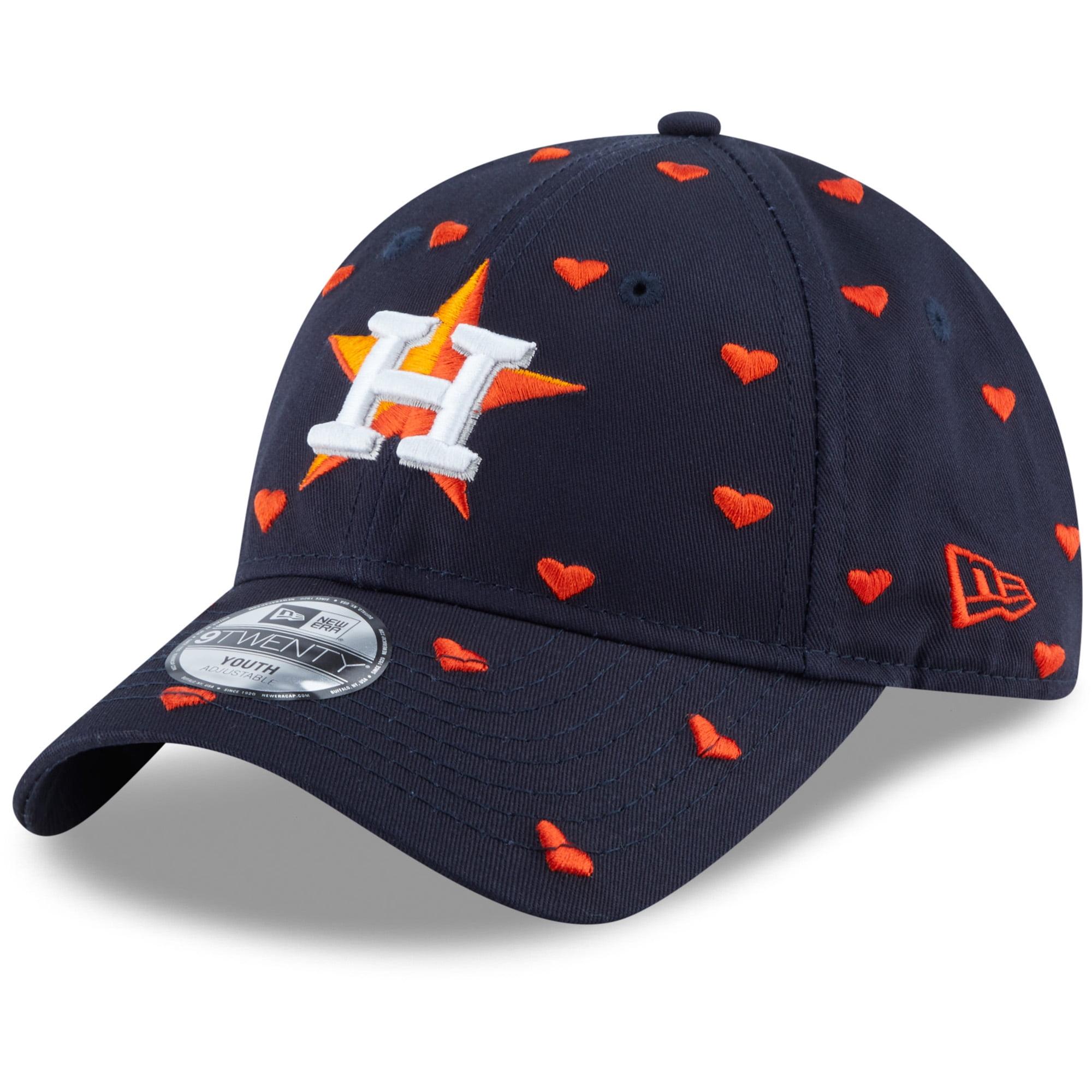 Houston Astros New Era Youth Lovely Fan 9TWENTY Adjustable Hat - Navy - OSFA