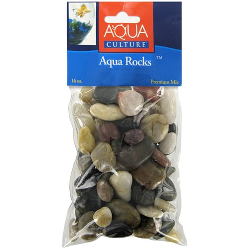 Aqua Culture Mini Mix Aqua Rocks, 16 oz