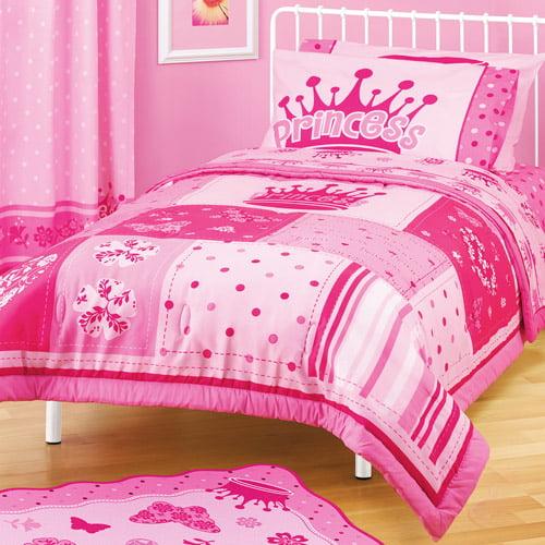 American Kids Princess Twin/Full Reversible Comforter