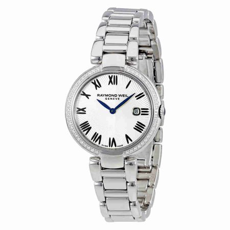 Weil Sweet - Raymond Weil Shine Silver Dial Diamond Ladies Watch 1600-STS-00659