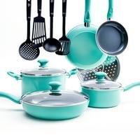 GreenLife Diamond Ceramic Non-Stick 13 Piece Cookware Set