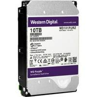 """WD Purple WD101PURZ 10TB 3.5"""" SATA 7200rpm Internal Hard Drive - 256MB Buffer"""