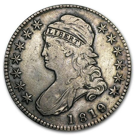 1819 Capped Bust Half Dollar VF