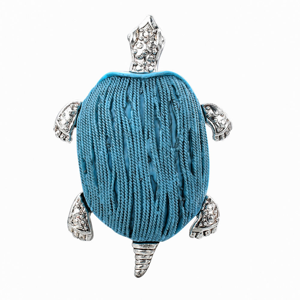 """Faux Turquoise Sea Turtle 