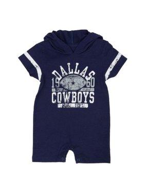 b0b30c8b2 Product Image Dallas Cowboys Newborn   Infant Navy Dalton Hooded Romper
