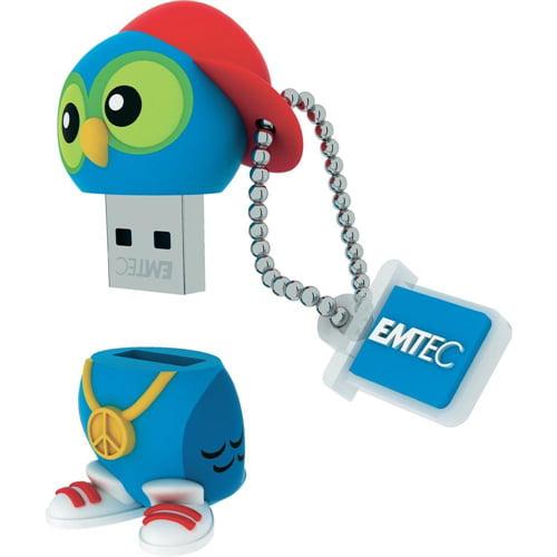 Emtec FLASH DRIVE 8GB USB2.0 DJ OWL ECMMD8GM341