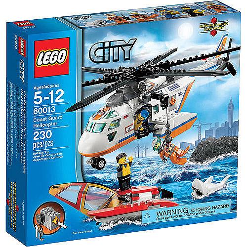 LEGO City Coast Guard Helicopter Play Set