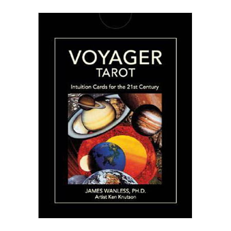 - Tarot Cards Voyager Deck Kit 21st Century Design Timeless Symbolism Experience Power of Outer Space Forecast Your Future Spark Your Imagination Fortune Telling Tool by James Wanless