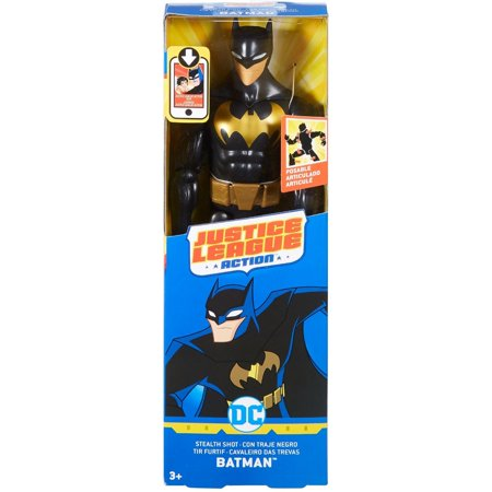 DC Comics Justice League Batman 12-inch Action Figure Wearing Batsuit - Justice League Female Characters