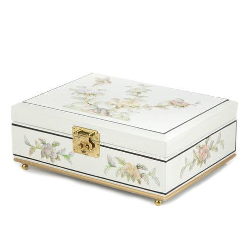 Oriental Furniture Clementina Asian Jewelry Box