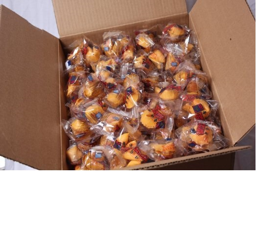 Golden Bowl Fortune Cookies, Vanilla Flavor, 350-Count Box by