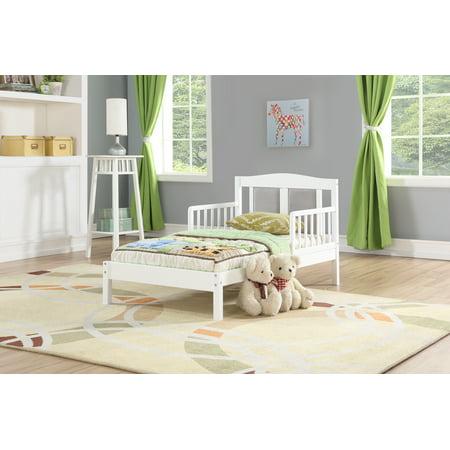 Angel Line Diane Toddler Bed, White w/ -