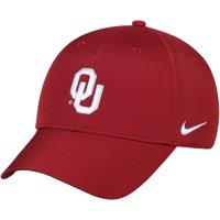 Oklahoma Sooners Nike Legacy 91 Logo Performance Adjustable Hat - Crimson - OSFA
