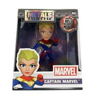 "Marvel 4"" Metals Diecast Captain Marvel Action Figure"