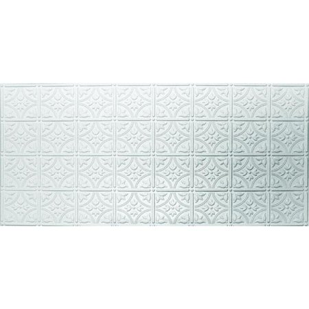 Dimensions Tin Look Nonsuspended Ceiling Tile and Backsplash