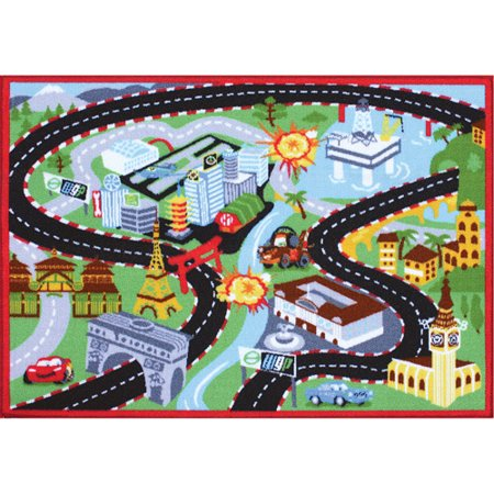 Disney Pixar Cars 2 Spy Play Rug