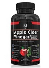 Apple Cider Vinegar Weight-Loss Supplement 60 capsules, best thermogenic fat burner for females,most effective fat burner pills