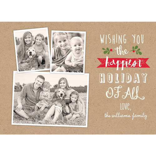 Happiest Holiday of All Standard Holiday Card