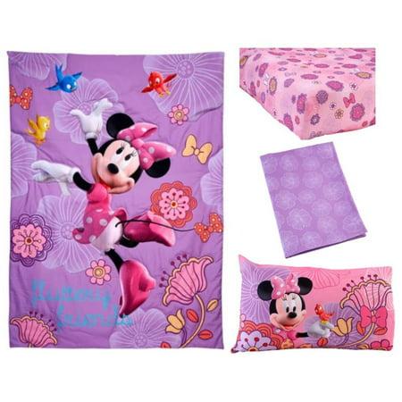 Disney Minnie Mouse Fluttery Friends 4 Piece Toddler