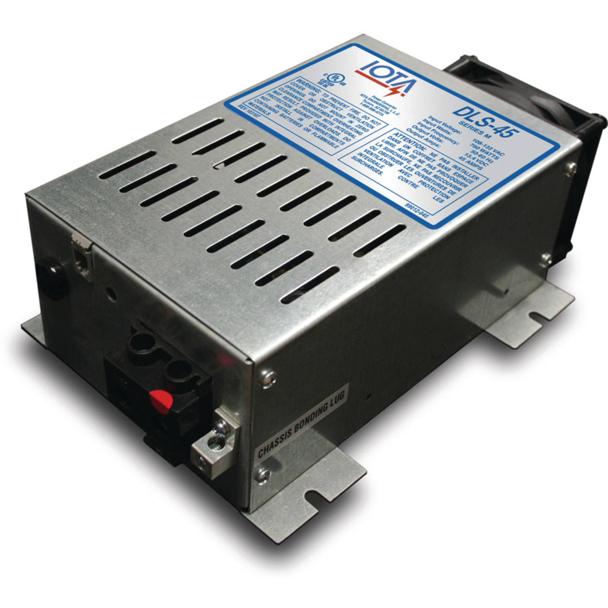 Iota DLS-45 45 Amp Power Converter Battery Charger