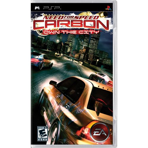 Need For Speed Carbon Own The City Playstation Portable