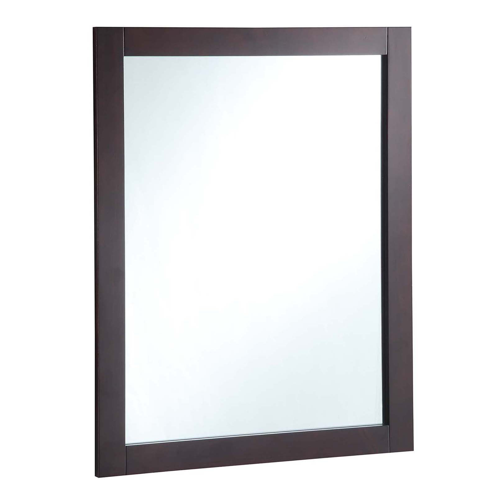 "Design House 547083 24"" x 30"" Vanity Mirror, Espresso by Design House"