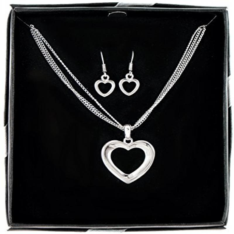 DDI 1225703 Heart plus Soul Necklace and Earring Set Case Of 36