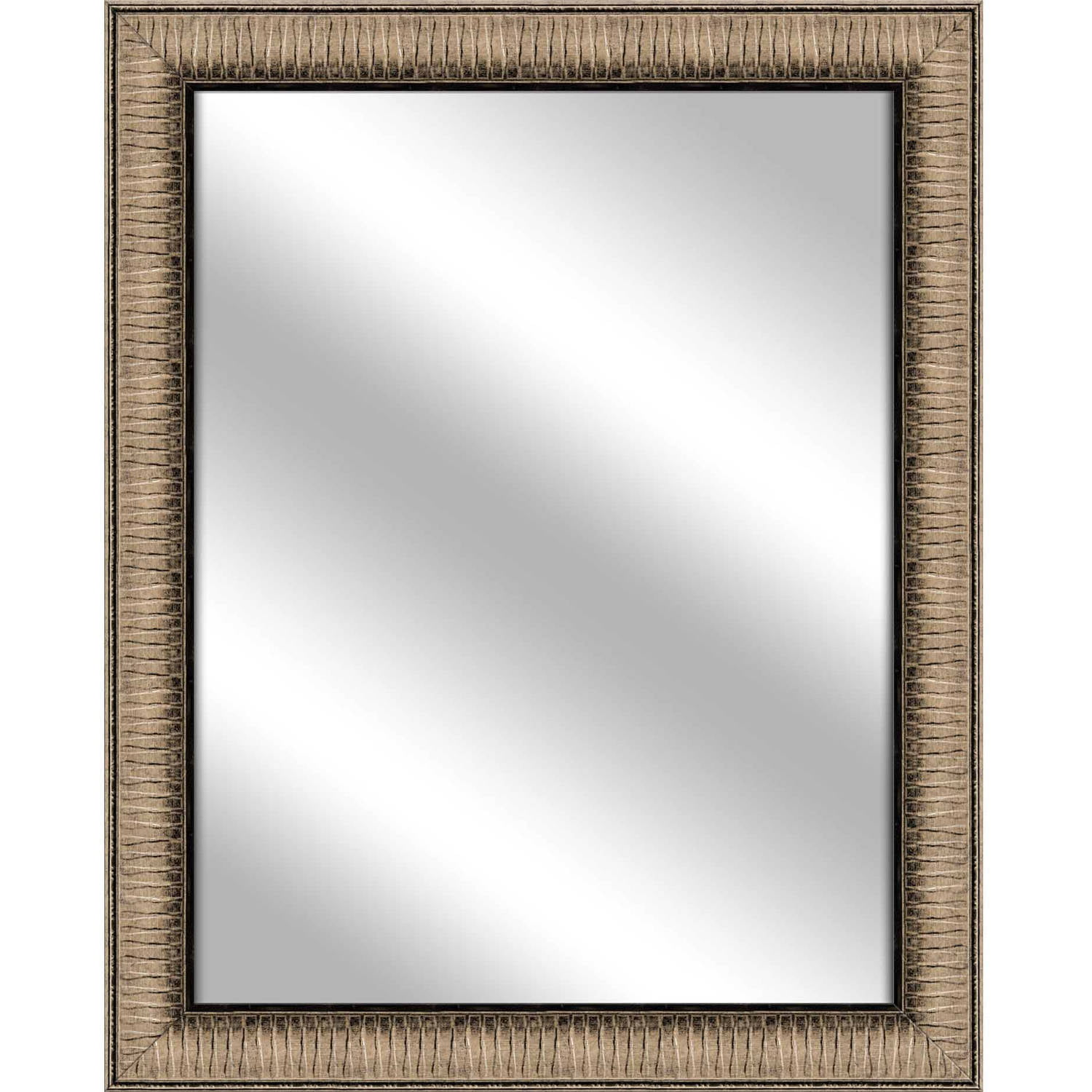 Vanity Mirror, Medium Champagne, 26.375x32.375 by PTM Images