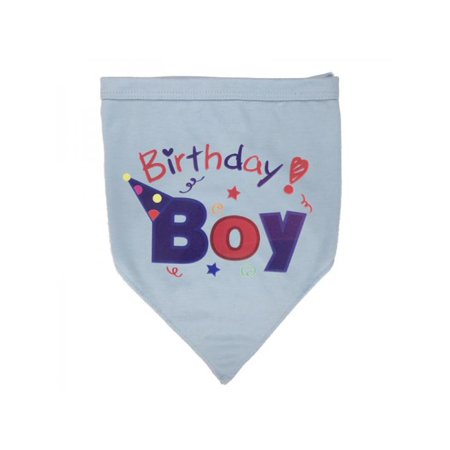 Lavaport Dog Girl Boy Cotton Bandana Pet Cat Puppy Birthday Neck Scarf