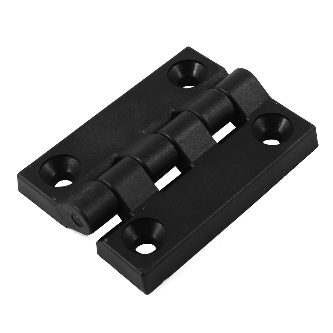 102mm x 80mm Cabinet Door Screw Mount Butt Ball Bearing Plastic Hinge