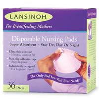 Lansinoh Disposable Nursing Pads For Breastfeeding Mothers - 36 Ea