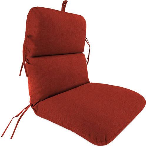 Jordan Manufacturing Outdoor Patio Replacement Chair Cushion, Husk Texture Brick