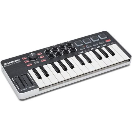 samson graphite 25 key mini keyboard midi usb controller. Black Bedroom Furniture Sets. Home Design Ideas