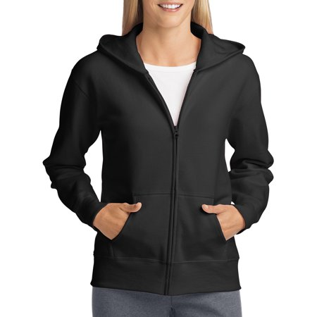 - Women's Fleece Zip Hood Jacket
