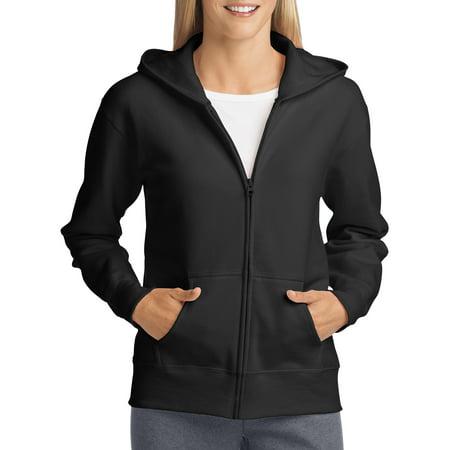 Pigment Dyed Ladies Full Zip (Women's Fleece Zip Hood)
