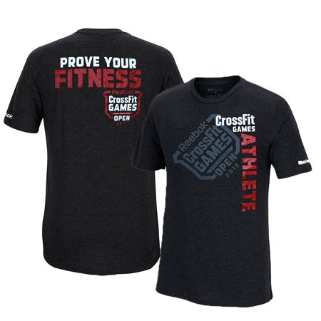 Reebok CrossFit 2013 CrossFit Games Open Athlete Men's Black Tri-Blend Premium T-Shirt](Crossfit Halloween Games)