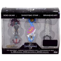 Funko Disney Kingdom Hearts 3 Keyblade Vinyl Collectible 3-Pack [Void Gear, Shooting Star & Braveheart]