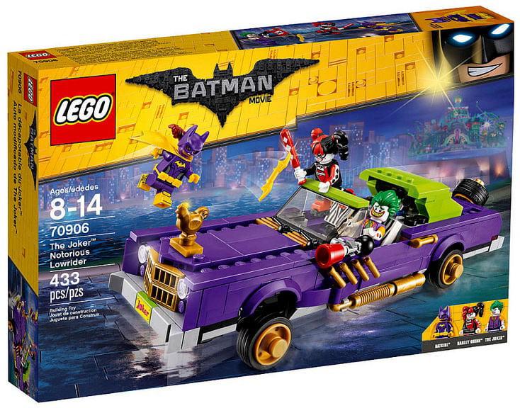Lego Batman Movie The Joker Notorious Lowrider 70906 by LEGO Systems, Inc.