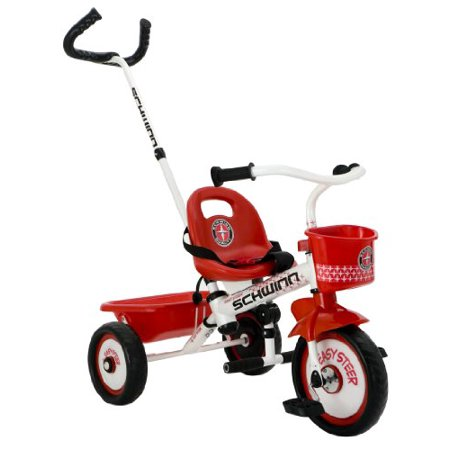 Schwinn Easy Steer Tricycle, Red/White (Easy Trifle)