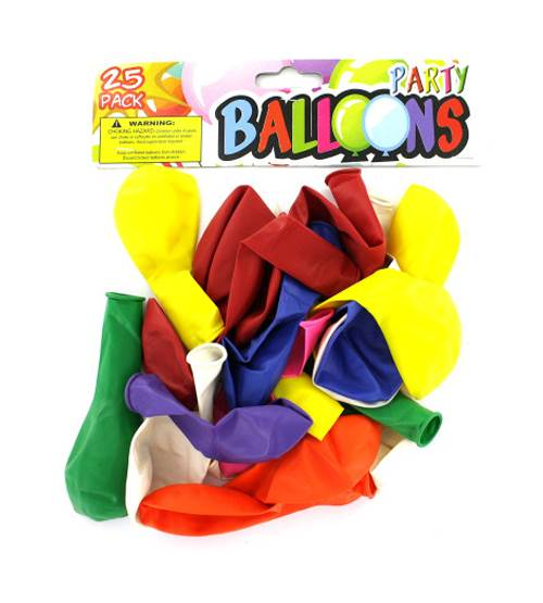 Party Balloon Pack - Set of 24