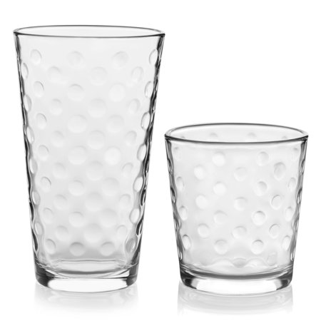 Libbey Awa 16-Piece Tumblers and Rocks Glass (Louis Blues Rocks Glass)